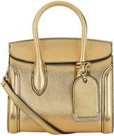 Alexander McQueen Mini Heroine Metallic Leather Bag