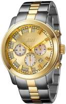 "JBW Men's JB-6218-C ""Delano"" Two-Tone Chronograph Diamond Watch"