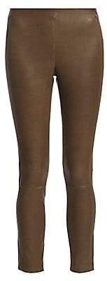 Rag & Bone Women's Simone Cropped Leather Pants