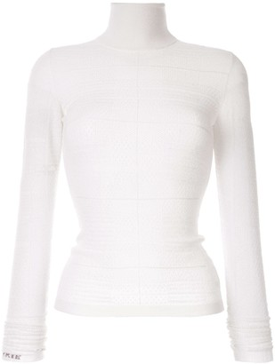 Barrie Roll-Neck Fitted Sweater