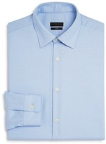 Z Zegna Micro Dot Slim Fit Dress Shirt