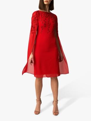 Raishma Gracie Embellished Cape Dress