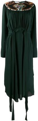 Stella McCartney Panelled Neckline Dress