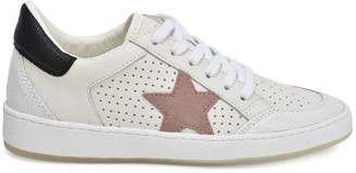 Vintage Havana Ginette Star Leather Sneakers