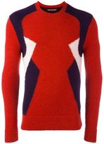 Neil Barrett colour block jumper