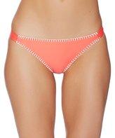 Splendid Women's Stitch Solid Tab Side Bikini Bottom