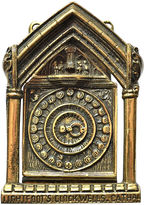 One Kings Lane Vintage Detailed Clock Door Knocker