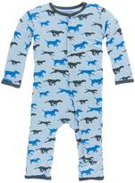 Kickee Pants Blue Dog Sleepwear
