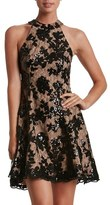 Dress the Population Women's 'Abbie' Sequin Fit & Flare Dress