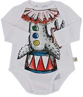 Stella McCartney INFANTS' BINKY SEA-LION-PRINT COTTON BODYSUIT