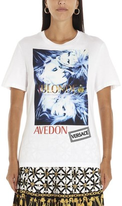 Versace Avedon Logo Printed T-Shirt