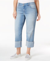 Style&Co. Style & Co Plus Size Cuffed Capri Jeans, Only at Macy's