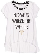 Ten Sixty Sherman Girl's Home Is Where The Wi-Fi Is Graphic Tee
