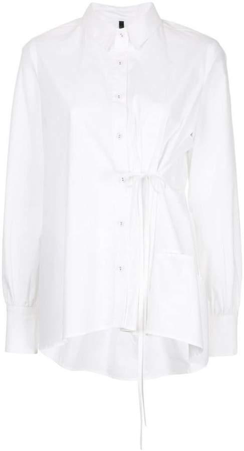 Taylor flared button shirt