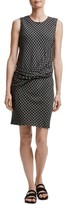 James Perse Women's Twist Front Shift Dress
