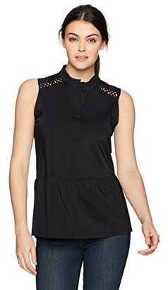 Lysse Women's Cecily Sleeveless Button Down Top