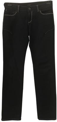 La Perla Blue Cotton Trousers for Women