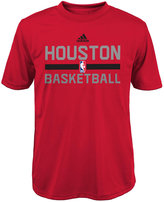 adidas Boys' Houston Rockets Practice Wear Graphic T-Shirt