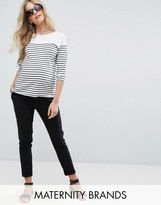 New Look Maternity Over Bump Stretch Slim Trousers