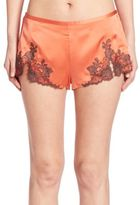 Josie Natori Lillian Silk Shorts