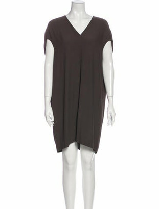 Rick Owens 2013 Mini Dress Grey