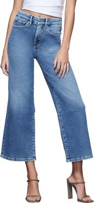 Good American Palazzo Crop Jeans