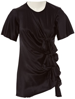 David Szeto Navy Silk Dress for Women