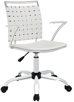 Modway Fuse White Desk Chair