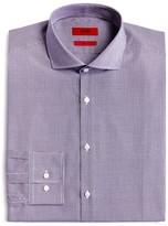 HUGO Micro Check Regular Fit Dress Shirt