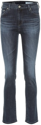 AG Jeans The Mari high-rise straight jeans