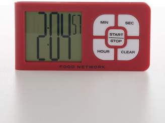 Food Network Slim Touch Button Timer
