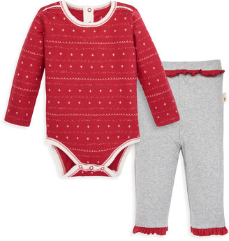 Burt's Bees Sweet Winter Organic Baby Bodysuit & Pant Set