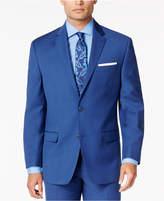 Sean John Men's Medium Blue Classic-Fit Jacket