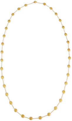 """Marco Bicego Siviglia 18k Gold Long Station Necklace, 36""""L"""