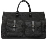 hook + ALBERT Men's Canvas Garment/duffel Bag - Black