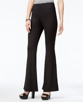 Material Girl Juniors' Ribbed Flare-Leg Pants, Only at Macy's