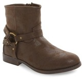 Frye Girl's Harness Studded Strappy Boot