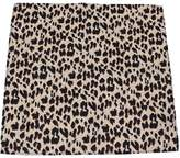 Buy Your Ties PS-AP-LEOPARD - Leopard Print Pocket Square Tan/Brown/Black