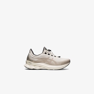 Asics grey Novablast low-top sneakers