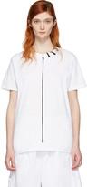 Craig Green White Lace-up Collar T-shirt