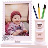 Panda Superstore 7-inch Baby Photo Frame Children Picture Frames Cute Photo Frame Pen Holder