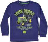 John Deere Navy 'John Deere' Long-Sleeve Top - Boys