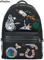 Dolce & Gabbana 'Vulcano' patch detail backpack
