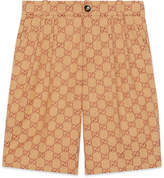 Gucci Boy's Allover GG Canvas Jacquard Shorts, Size 4-12