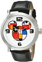 Disney Men's W001834 Mickey Mouse Analog Display Analog Quartz Watch
