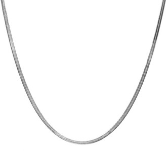 Arianne Chain Necklace In Silver - 20""