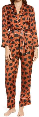 KILO BRAVA Leo Love Wrap Pajamas
