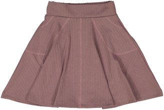 Teela Nyc Rib Circle Skirt