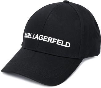 Karl Lagerfeld Paris Essential logo baseball cap