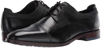Stacy Adams Raiden Cap Toe Oxford (Black) Men's Shoes